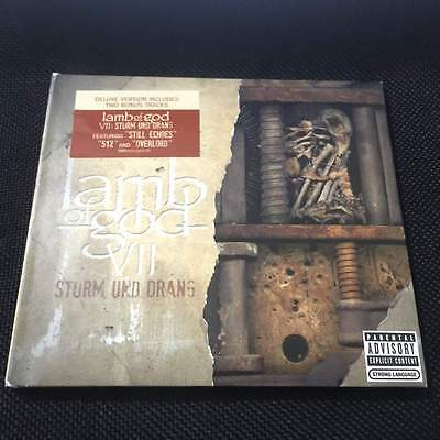 Lamb of God - Sturm Und Drang 2015 USA CD+2 Bonus Tracks Deluxe Edition Sealed