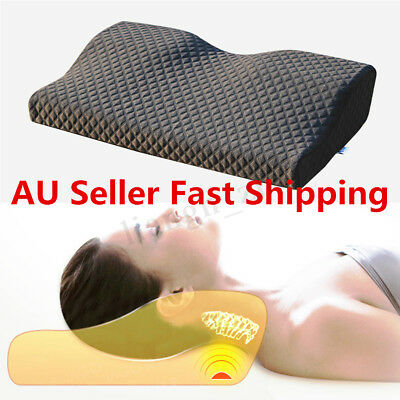 Rebound Memory Foam Pillow Latex Magnetic Slow Cervical Release Pain Health Care