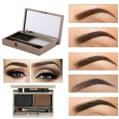 Women Beauty Makeup Eyebrow Powder Eye Brow Palette Cosmetic Shading Kit Sourcil