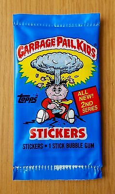 Garbage Pail Kids UK Series 2 (1986) RARE Sealed Sticker Pack ~ Topps ~ Vintage
