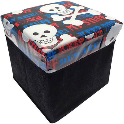 Keep Out, Skulls Storage Box