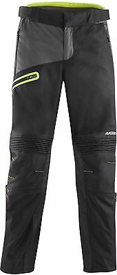 Acerbis Enduro One Pants Large UK 36 Inch Black Flo Yellow Trousers Off Road