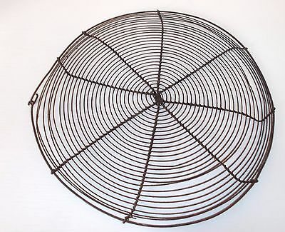 Antique French Wire Work Rack, Pie Cooling, Steaming, Warming Rack, Artisan Made
