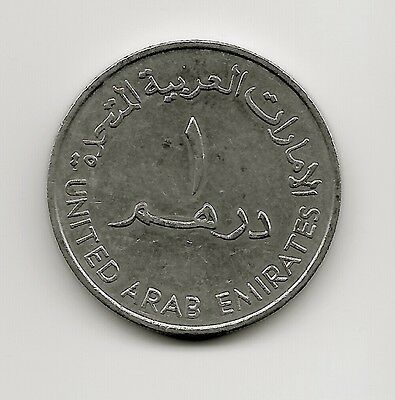World Coins - United Arab Emirates 1 Dirham 1989 Coin KM# 6.1 Lot-U2