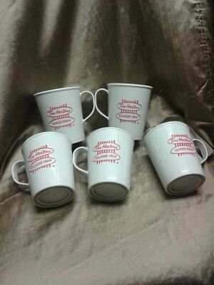 VINTAGE TIM HORTONS ALWAYS FRESH COFFEE CUPS x5 NO LIDS