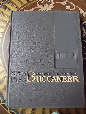 1965 East Tennessee State University College Yearbook Johnson City, TN Buccaneer