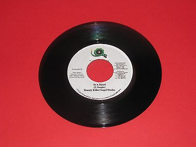 "Bounty Killer/angel Doolas # In A Diesel #  7"" Vinyl Single"