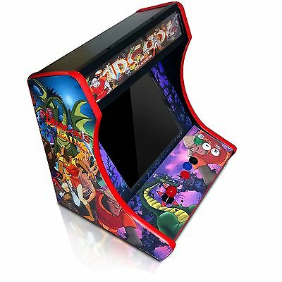 MDF Table Top Arcade Cabinet - Do It Yourself Kit with T-Molding Cuts Included!
