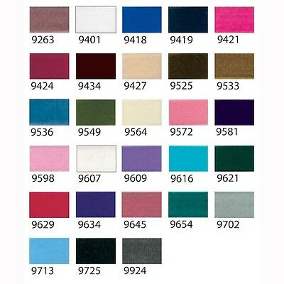 Velvet Ribbon Berisfords 9 16 22 36 & 50mm 30 Colours UK Seller