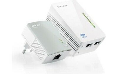 Powerline WiFi Tp-Link Ethernet fino 300Mbps 2 Adattatori - AV500 TL-WPA4220KIT