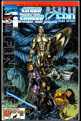 Devils Reign  #8 Cover A (1997 Series), 1st Print, Silver Surfer/Weapon Zero, NM