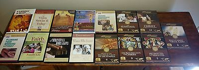 Catholic Dvd Audio Lot Of 15 Free Ship