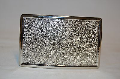 Vintage NOS Fireman Firefighter Uniform Silver Tone Belt Buckle
