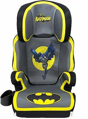 Batman Booster Car Seat Boys Safety High Back Washable Cover Cup Holder
