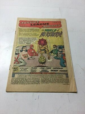 Justice League Of America 1 Coverless First JLA
