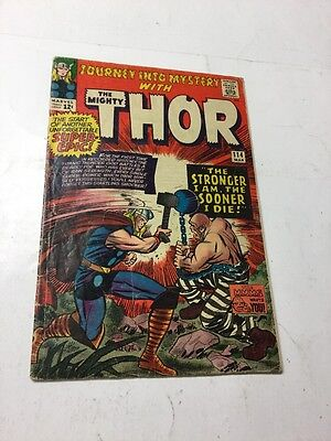 Journey Into Mystery With Thor 114 Gd+ Good+ 2.5