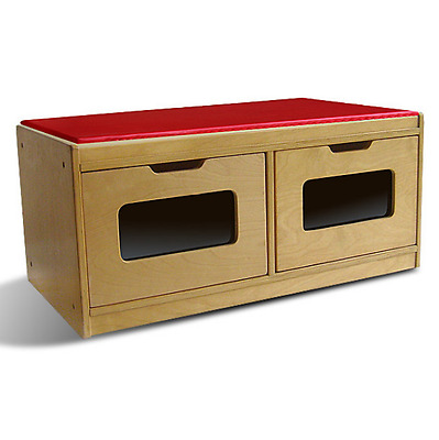 A+ Childsupply Toy Storage Bench