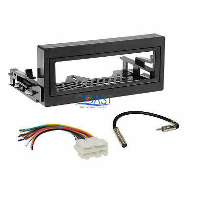 chevy gmc complete radio stereo install dash kit plus wire harness