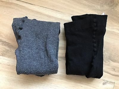 Two Pairs Of Maternity Tights, H&M, Size M, Worn Twice, VGUC