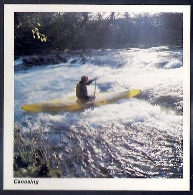 Nabisco-Action Shots Of Olympic Sports- Canoeing
