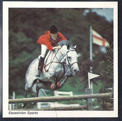 Nabisco-Action Shots Of Olympic Sports- Equestrian Sports