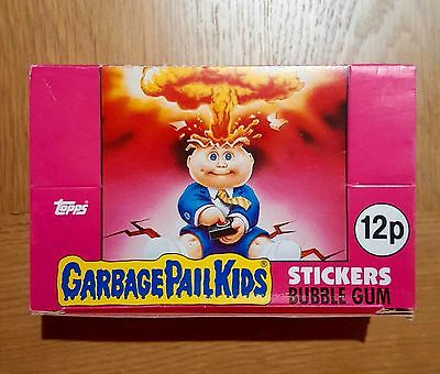 Garbage Pail Kids UK Series 1 (1985) Empty Box ~ Vintage ~ Excellent Condition
