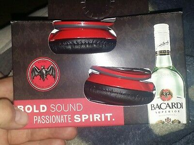 New Head Phones,bacardi Collectible 3.5 Mm