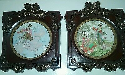 Reversible Antique pictures of Japanese/Chinese women