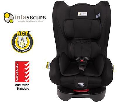 Covertible Child Infant Baby Car Seat Infa Secure Cosi Compact II 0-4 year Black