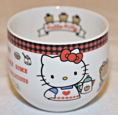 Hello Kitty Japanese Teacup Design On Inside & Outside Made In Japan