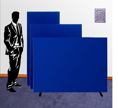 Office Divider Partition Screen Floor Panel NEW - 3 Heights 7 Widths  9 Colours