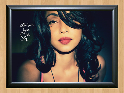 Sade Stronger Than Pride Signed Autographed A4 Print Photo Poster Memorabilia