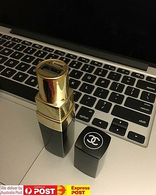 CHANEL Lipstick Power Bank | Girls Novelty Elegant Stylish Cute Small Charger