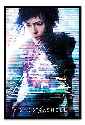 Framed Ghost In The Shell One Sheet Poster New