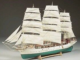 Billing Boats USA, Inc. 5005 1:75 Danmark 3-Masted Training Sailing Ship Special