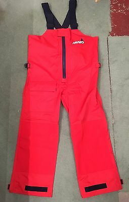 Musto Sailing / Yachting Waterproof Trousers / Salopettes. Size S - LUD