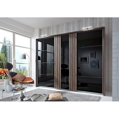 Qmax Sliding Door Wardrobe 270CM - Cordoba Range - Quality German Made Furniture