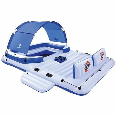 Bestway Tropical Breeze Inflatable Floating Island Lounger Beach Pool 43105 NEW!