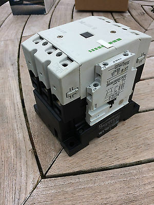 Moeller DIL 4 M 160A AC1  55KW Contactor 100V AC Coil C/W 2 AUX CONTACTS