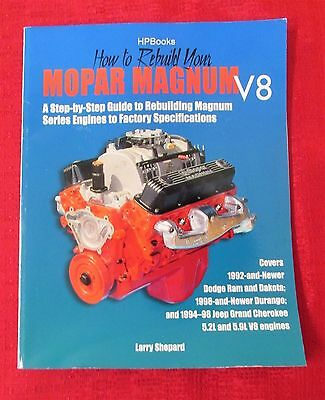 Rebuild Your Mopar Magum - Hp Books