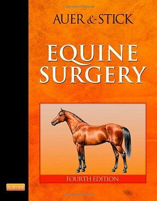USED (GD) Equine Surgery, 2e by Jorg A. Auer Dr Med Vet  MS