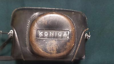 Konica Auto S2 Rangefinder 35mm film camera with case excellent condition