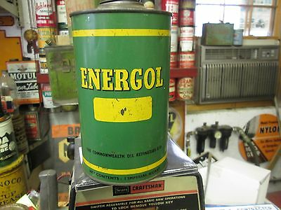 Early Original  Energol Litre Oil Can