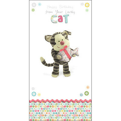 Boofle Happy Birthday From The Cat Greeting Card Cute Range Greetings Cards