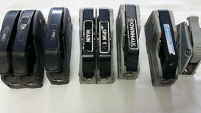 2X Double & 4 X Single  Used  Spinlock Rope Clutches