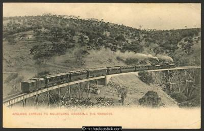 Adelaide Express to Melbourne crossing the Viaducts', S.A., posted 1 DE 21