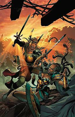 Odyssey Of The Amazons #3 Vf/nm Letterhead Comics
