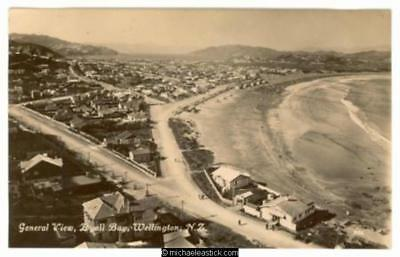 Wellington: General View, Lyall Bay