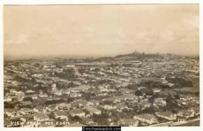 Auckland: View from Mt Eden