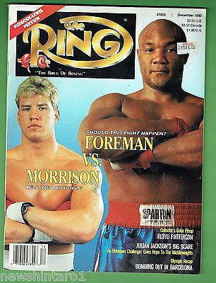 #dd.  The Ring Boxing Magazine, December 1992